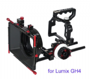 CAME-TV Protective Cage para GH4 Camera con Mattebox Follow Focus